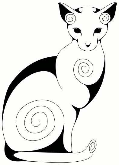 Swirly Cat (2)